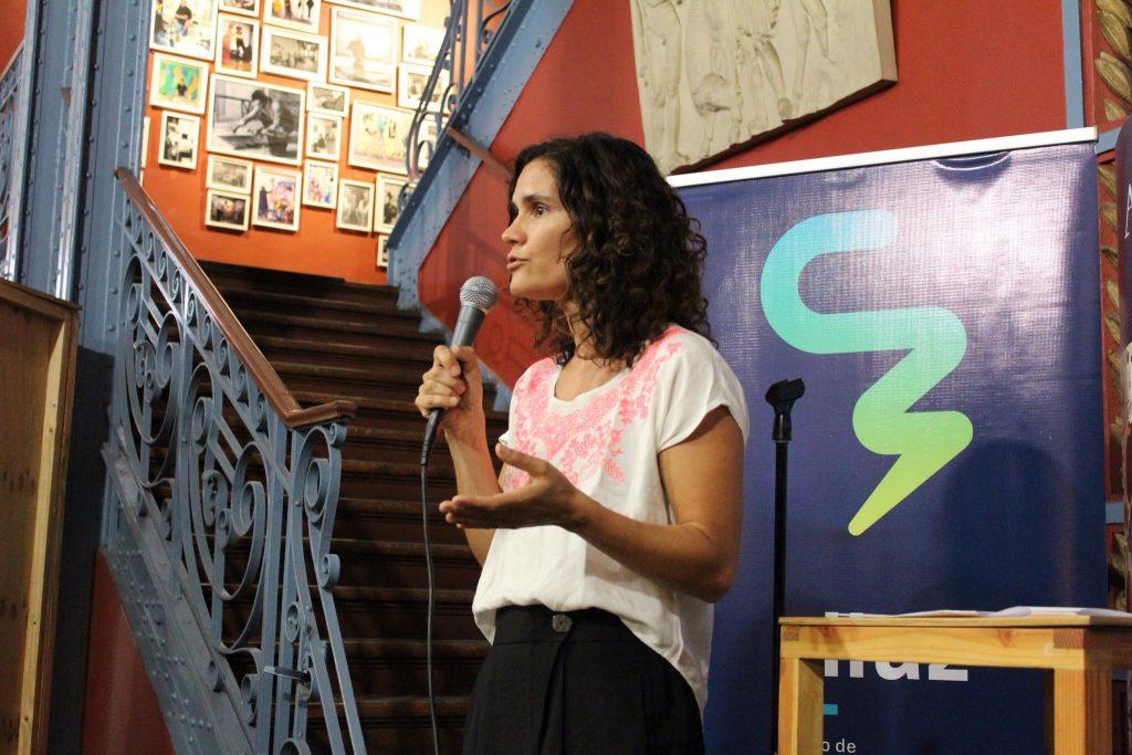 El resumen del proceso de todo el concurso fue hecho por parte de Ximena Muñoz, Directora Ciluz.